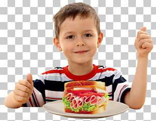 Junk Food Eating Child PNG