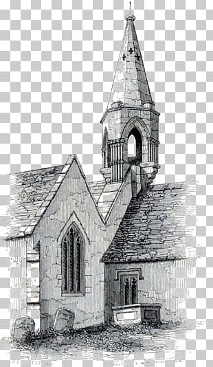 Building Chapel Place Of Worship /m/02csf Monochrome Photography PNG