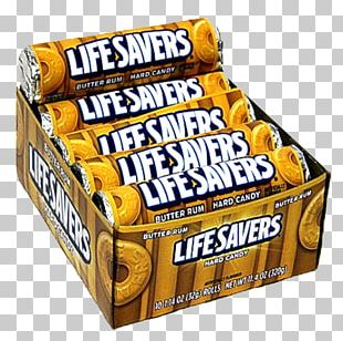 Butterscotch Life Savers Rum Snickers Kuchen PNG