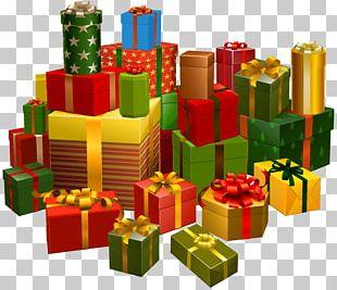 Christmas Gift Christmas Tree Santa Claus PNG