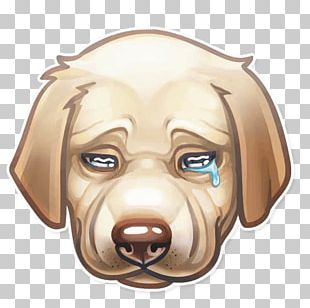Dog Sticker Telegram Snout Animal PNG