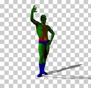 Superhero Figurine PNG