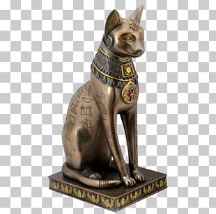 Ancient Egypt Cat Bastet Statue Egyptian PNG
