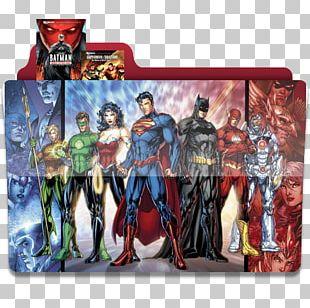 Cyborg DC Comics The New 52 Justice League PNG