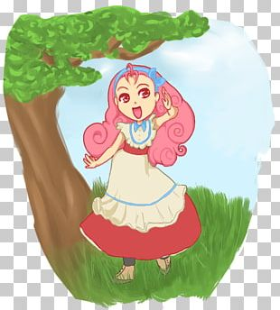 Cartoon Fairy Green Food PNG