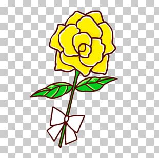 Floral Design Rose Yellow Cut Flowers Father's Day PNG