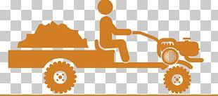 Tractor Harvest Icon PNG
