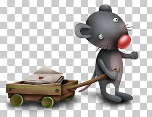 Valentine's Day Paper Rat PNG
