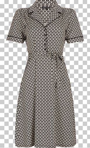 Polka Dot Sleeve Vintage Clothing Dress PNG
