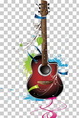 Guitar Musical Instrument PNG