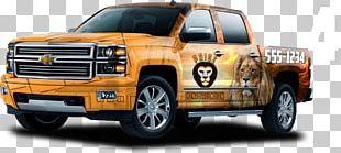 Chevrolet Silverado Wrap Advertising Car Pickup Truck Van PNG