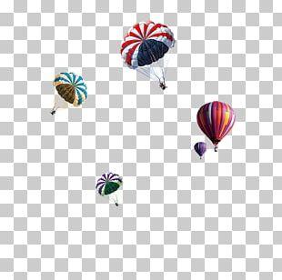 Hot Air Balloon Parachute PNG