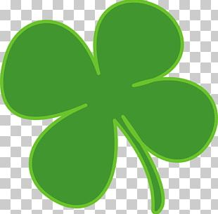 Ireland Shamrock Saint Patricks Day Clover PNG