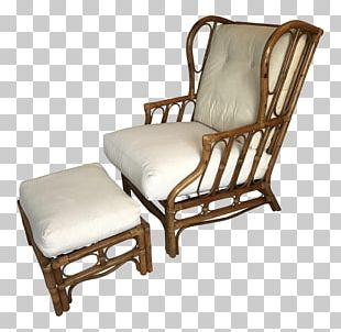 Wing Chair Rattan Wicker Furniture PNG