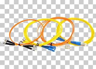 Optical Fiber Cable Fiber Optic Patch Cord Patch Cable Optical Fiber Connector PNG