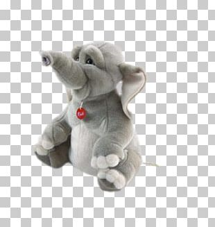Elephant Stuffed Toy Plush Icon PNG