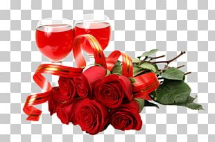 Valentine's Day Birthday Gift Flower Happiness PNG