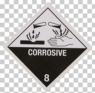 HAZMAT Class 8 Corrosive Substances Dangerous Goods HAZMAT Class 9 Miscellaneous Label PNG