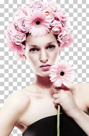 Painting Floral Design Woman With A Hat Spring Flower PNG