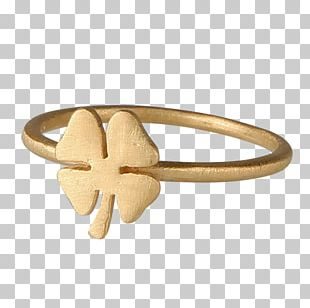 Ring Silver Four-leaf Clover Gold Jewellery PNG