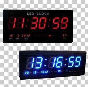 Digital Clock Alarm Clocks Table Wall PNG