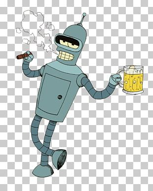 Bender T-shirt Philip J. Fry Robot Animated Cartoon PNG