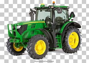 John Deere Tractor Row Crop Agriculture Heavy Machinery PNG