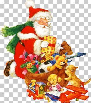 Santa Claus Père Noël Christmas Day Party Father PNG