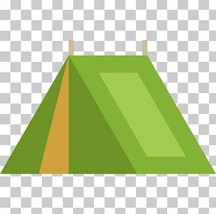 Green Triangle Color Geometry PNG