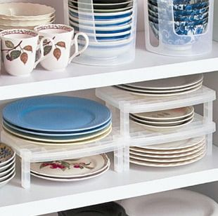 Shelf Plate Tableware Kitchen Cabinet PNG