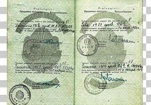 Passport Military Occupation Cold War Poland Soviet Union PNG