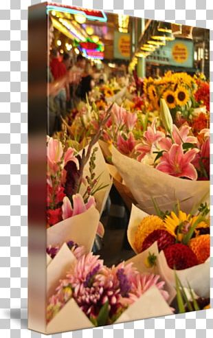 Floral Design Pike Place Cut Flowers Art PNG