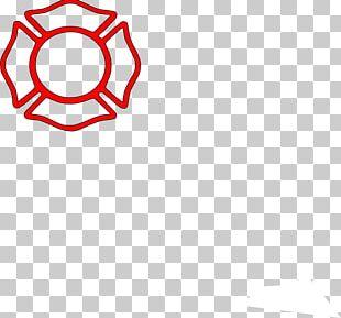 Maltese Cross Firefighter Fire Department PNG