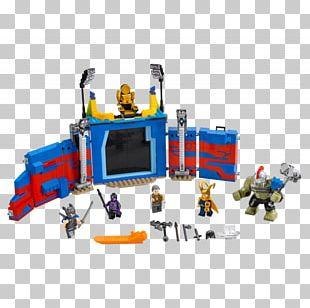 Thor Loki Hulk Lego Marvel Super Heroes Grandmaster PNG