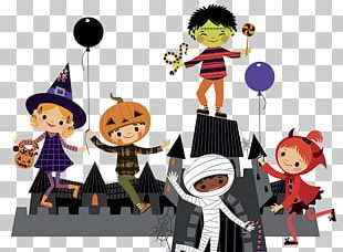 Halloween Costume Child Illustration PNG
