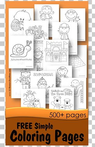 Coloring Book Child Illustration Adult PNG