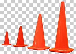 Traffic Cone Road Safety Orange PNG