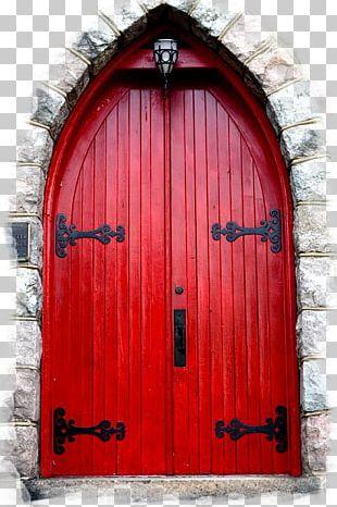 Doorstop Red Building House PNG