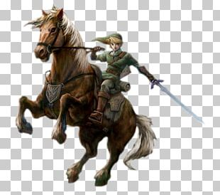 Link The Legend Of Zelda: Twilight Princess Epona The Legend Of Zelda: Ocarina Of Time Video Game PNG