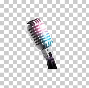 Microphone Background Music PNG