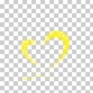 Love Heart Painting Desktop Yellow PNG