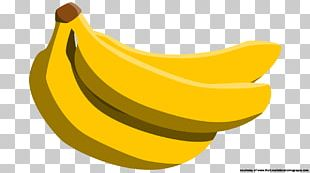 Cavendish Banana Pisang Goreng Auglis PNG