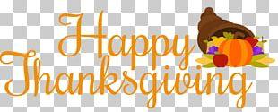 Thanksgiving Day Wish Cornucopia PNG
