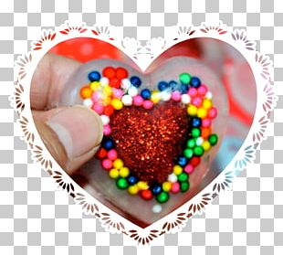 Valentine's Day Heart Bonbon Sprinkles Chocolate PNG