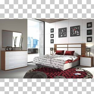 Bedroom Table Furniture Headboard PNG
