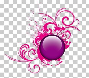 Button Crystal Ball Icon PNG