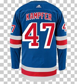 Sports Fan Jersey New York Rangers Ice Hockey Sleeve PNG