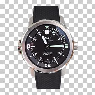 Watch Strap Leather Chronograph International Watch Company PNG