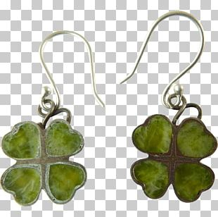 Earring Jewellery Costume Jewelry Four-leaf Clover PNG