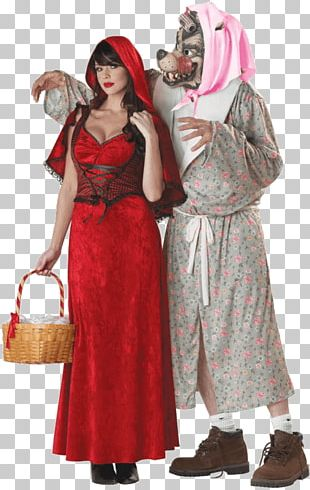 Big Bad Wolf Gray Wolf Costume Little Red Riding Hood Fairy Tale PNG